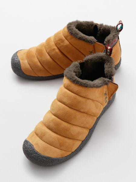 Faux Fur Mock Shoes