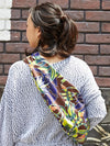 Botanical Pattern Shoulder Bag-Ametsuchi