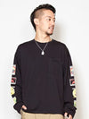 Match Box Print Men 's Long Sleeve Tee-Ametsuchi