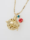 GAMELAN Ball Necklace-Ametsuchi