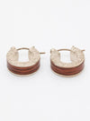 KOA Wood Feel Men's Earrings-Earrings-Ametsuchi