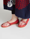 KIKU Embroidery Flats Pumps