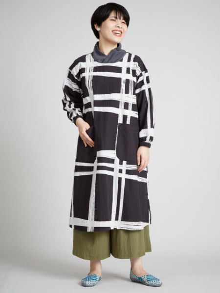 Lattice Pattern KAPPOUGI Apron