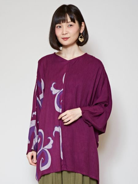 KARAKUSA Arabesque Top