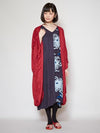 KIKU Dress x HAORI Cardigan Set-Ametsuchi