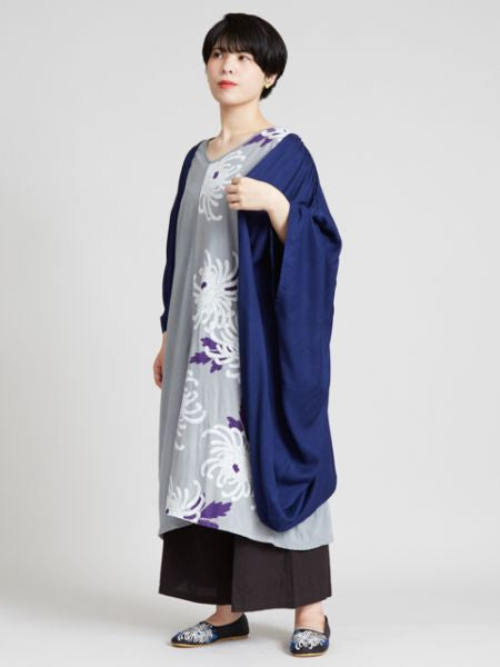 KIKU Dress x HAORI Cardigan Set