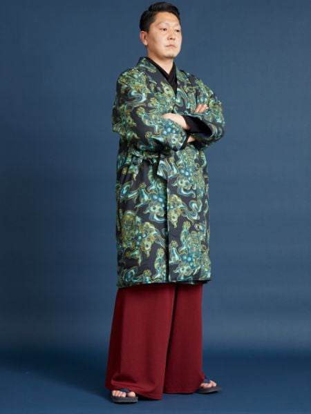 Modern KISSHO Pattern HANTEN Jacket