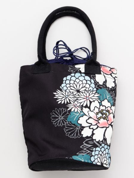 Floral Bucket Tote Bag