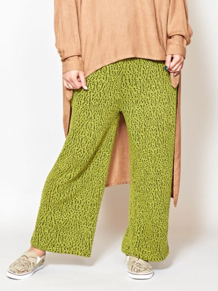 Stretchable Slit Pants-Ametsuchi