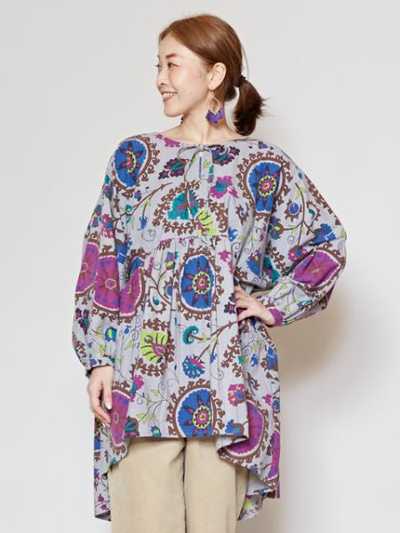 Uzbek Pattern Inspired Blouse