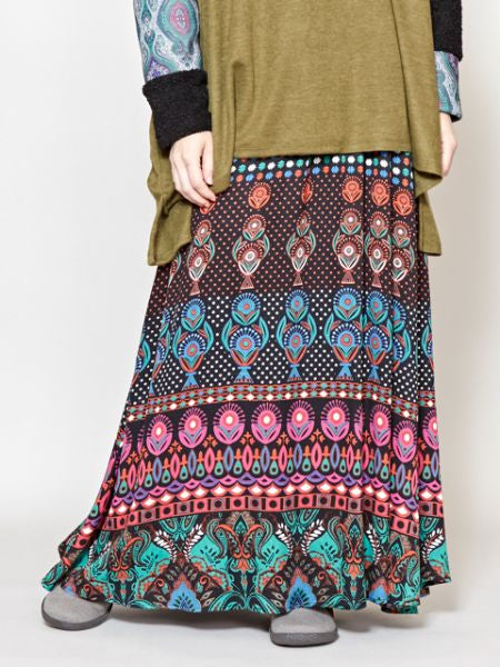 Bohemian Long Skrit -Skirts-Ametsuchi