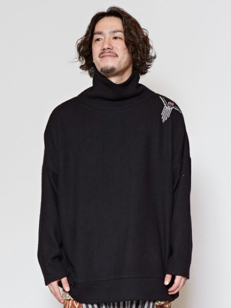 Turtleneck Brushed Top-Ametsuchi