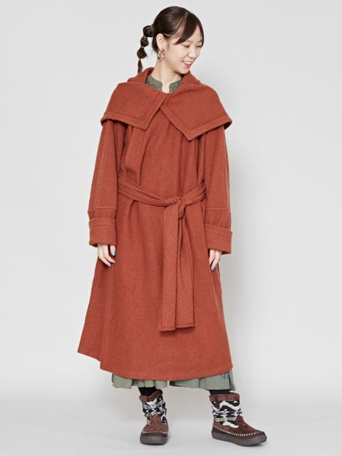 Unisex Nomad Wool Coat