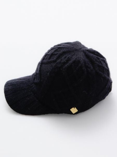 Cable Knit Cap-Caps & Hats-Ametsuchi