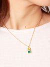 Bi Color Necklace -Necklaces-Ametsuchi