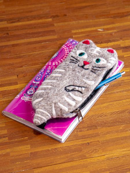 Cat Pencil Case-Ametsuchi