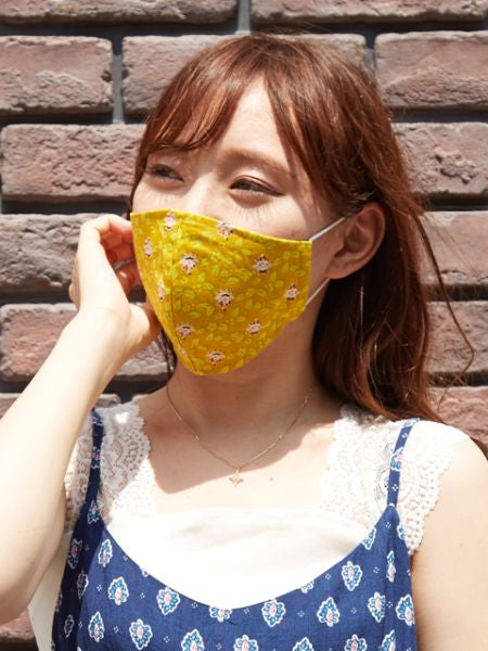 European Pattern Cotton Face Mask-Ametsuchi