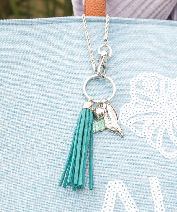 Whale Tale Fringe Bag Charm-Others-Ametsuchi
