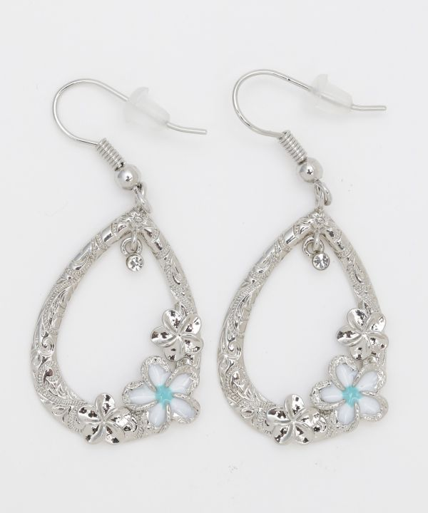 Anting-anting PLUMERIA Teardrop