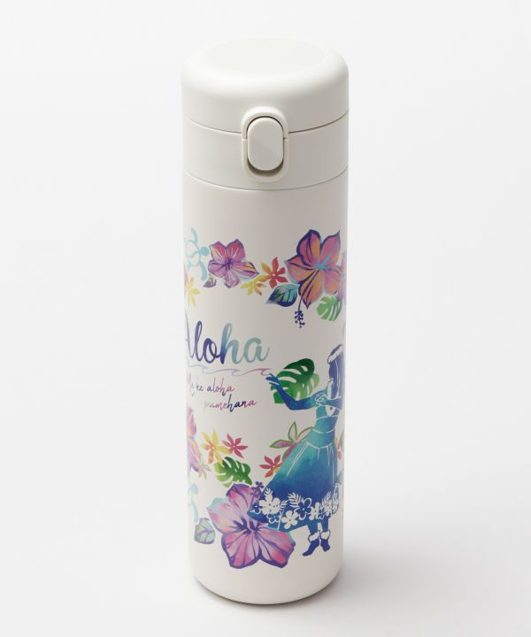 Classy Hawaiian Water Bottle-Kitchen Goods-Ametsuchi