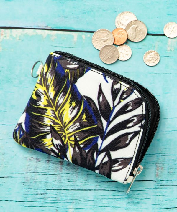 Botanical Small Wallet-Bags & Purses-Ametsuchi
