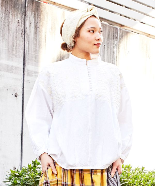 IRASOS Embroidered Blouse