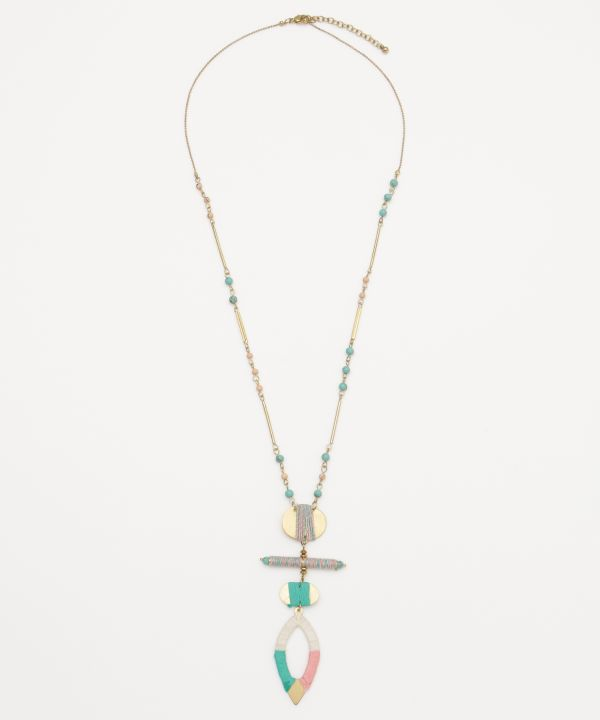 Bohemian Layered Necklace -Necklaces-Ametsuchi