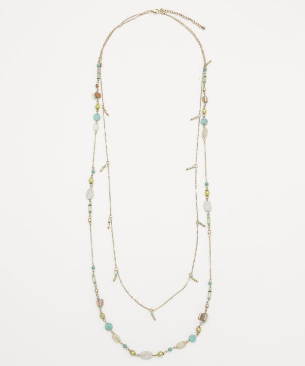 Bohemian Statement Necklace -Necklaces-Ametsuchi