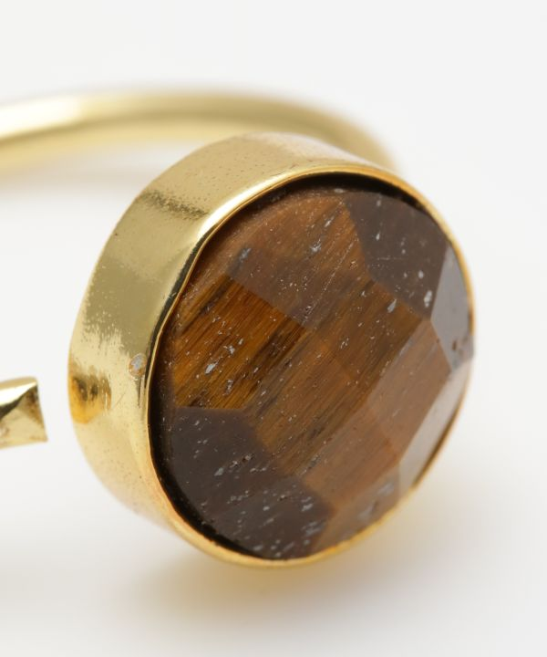 CATHEDRAL Tiger Eye Ring-Rings-Ametsuchi