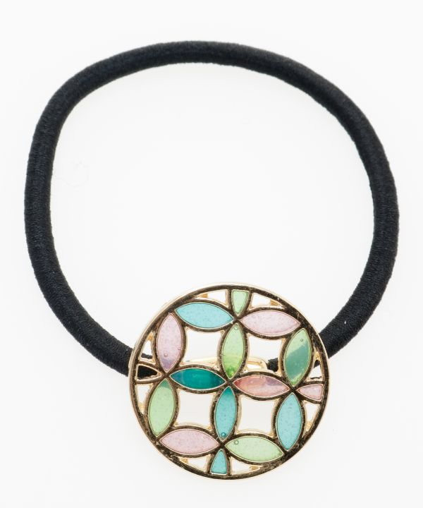 Stained Glass Like Hair Tie-Hair Accessories-Ametsuchi