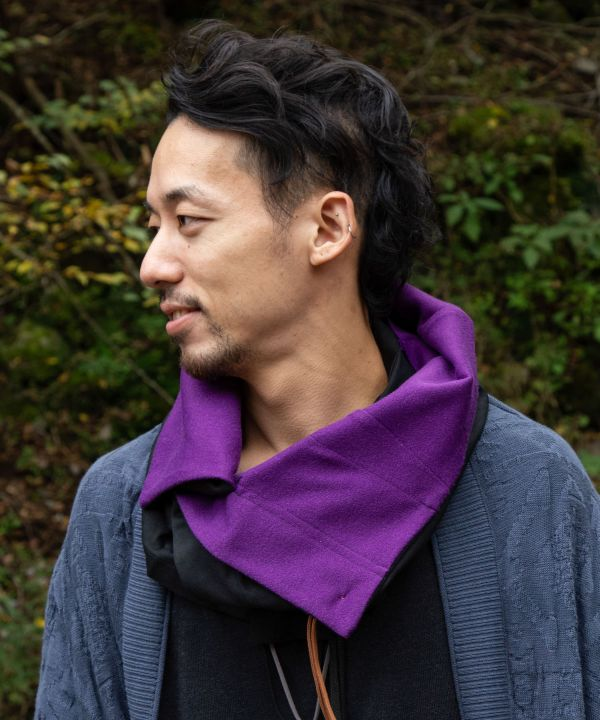 Nomad Convertible Snood-Scarves-Ametsuchi