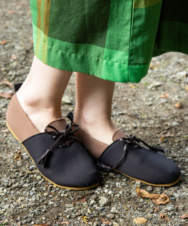 Bicolor Boho Slip On