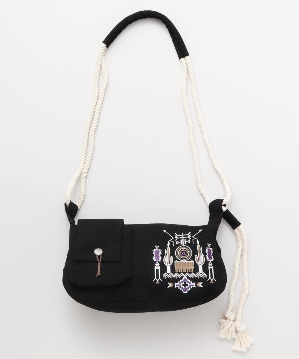 Navajo Embroidery Shoulder Bag