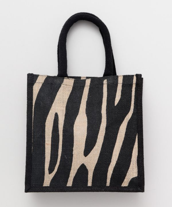 Safari Jute Hand Bag-Ametsuchi