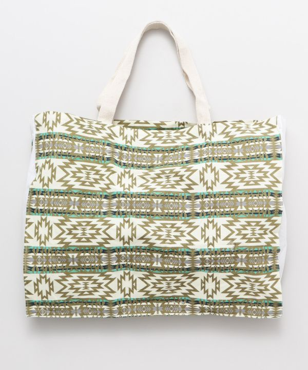 NAVAJO Packable Eco Bag L-Bags & Purses-Ametsuchi