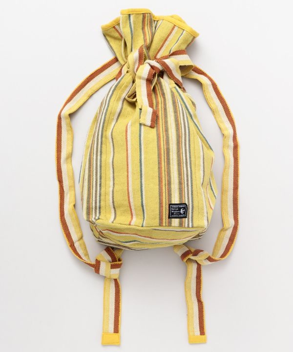 Nepal Made Cotton Backpack-Ametsuchi