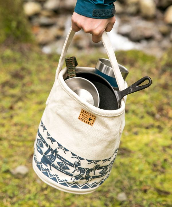 KACHINA Canvas Bucket Bag