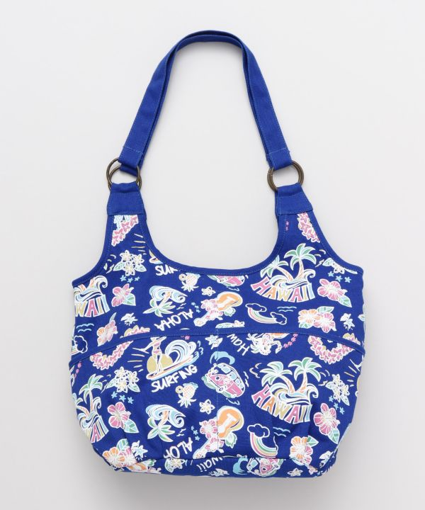 HAWAIIAN MOTIF BAG