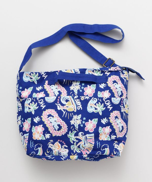 Plumeria Honu Shoulder Bag