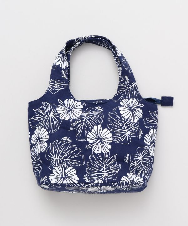 Hibiscus x MONSTERA Hand Bag-Ametsuchi