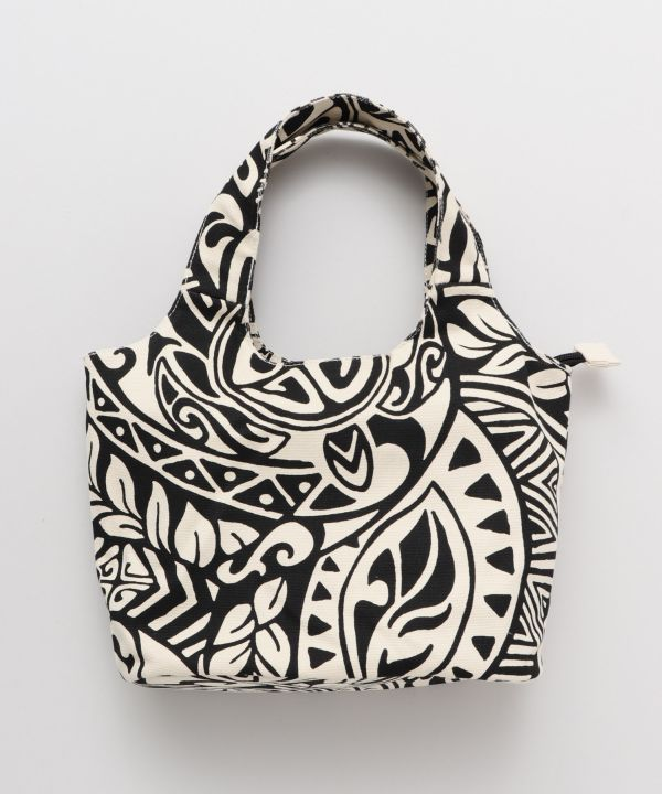 Tribal Pattern Small Hand Bag-Ametsuchi