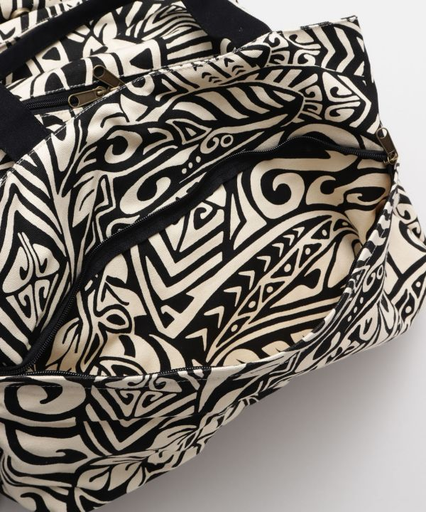 Polynesian Tribal Boston Bag