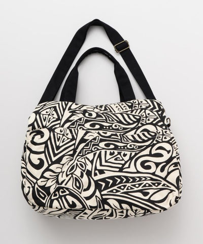 Polynesian Tribal Boston Bag-Ametsuchi