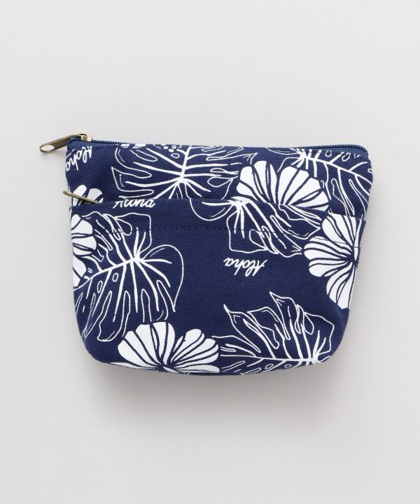 Hibiscus x MONSTERA Small Pouch-Ametsuchi