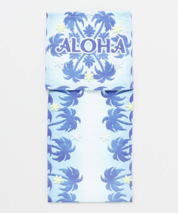 Hawaiian Quilt Pattern Toilet Paper Holder-Ametsuchi