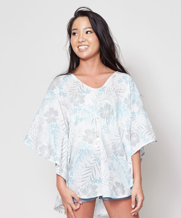 Hibiscus Butterfly Top