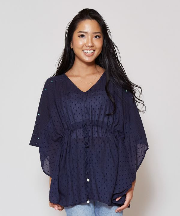Star Shower Lace Top-Ametsuchi