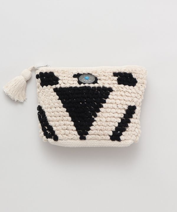 Loop Knitting Pouch
