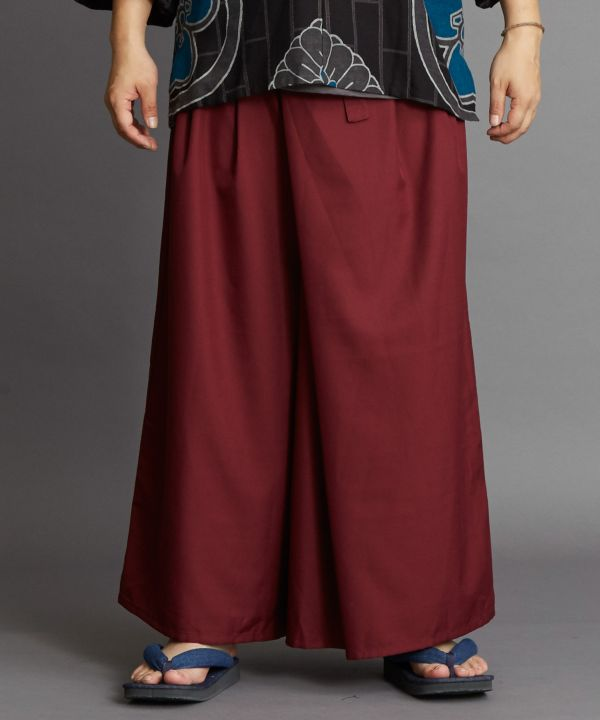 Pantalon large HAKAMA