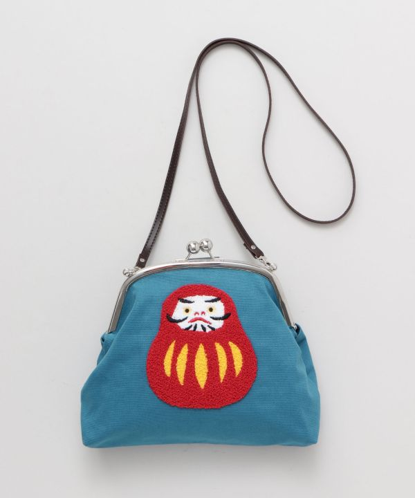 SAGARA Embroidery Chenille Shoulder Bag-Bags & Purses-Kaya- Ametsuchi